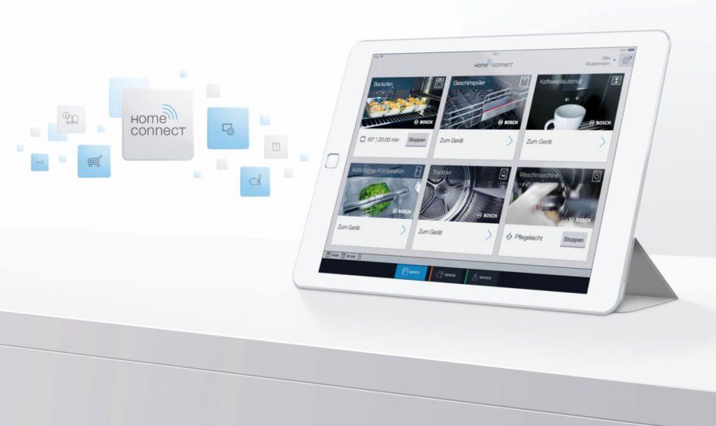 Was steuert Smart-Home: Bosch Home Connect