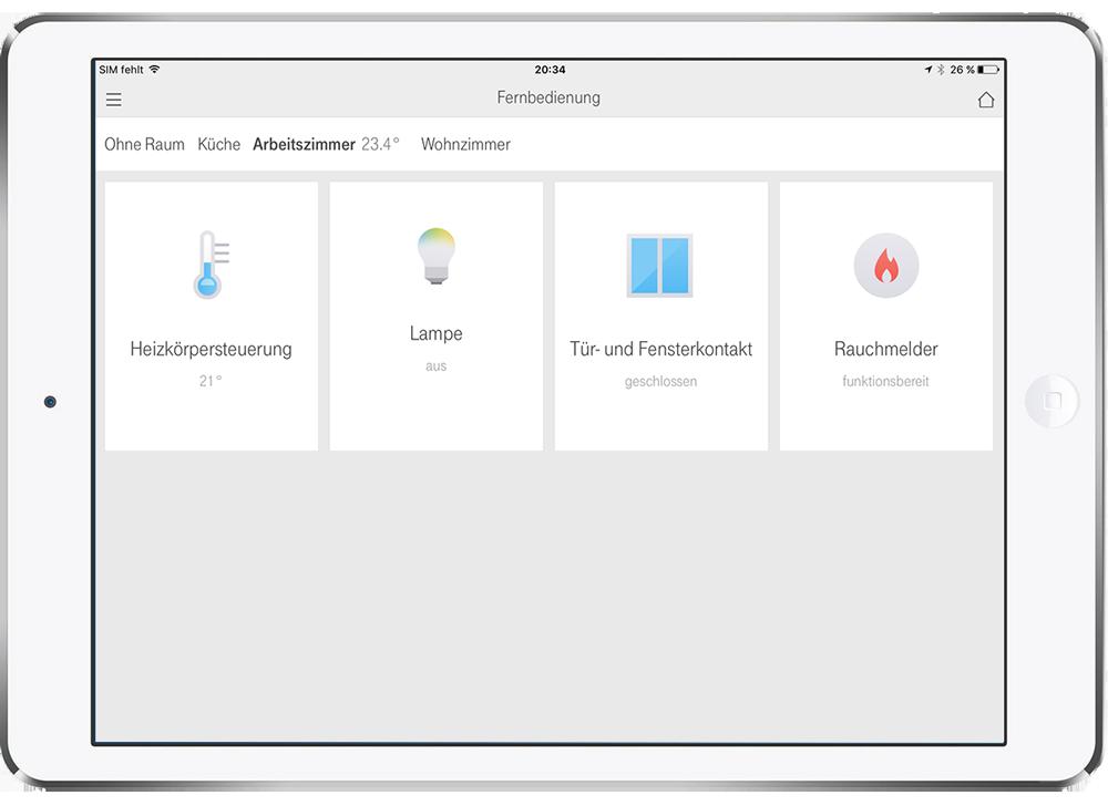 Telekom Smart Home Steuerung Home Pioneers
