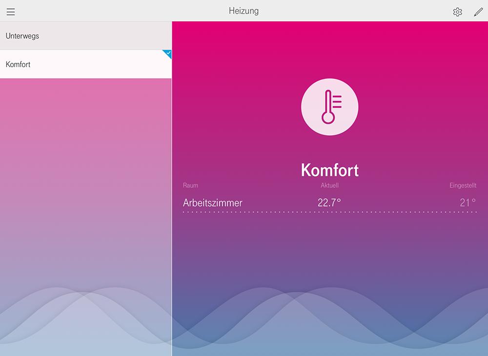 Telekom Smart Home: Heizen