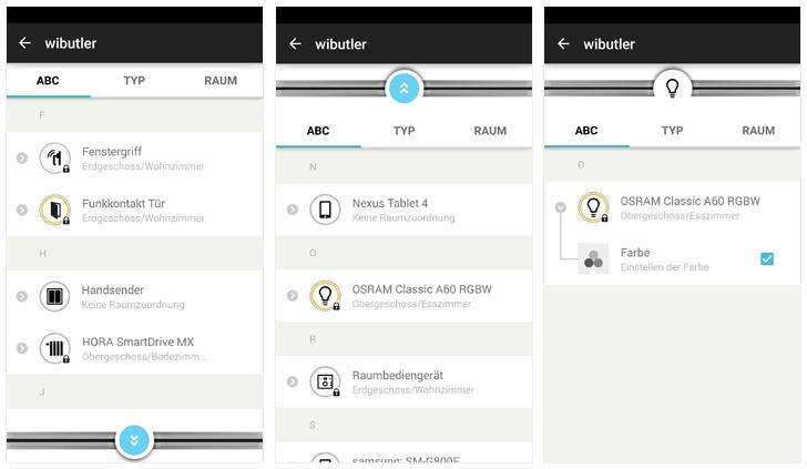 WiButler Pro App