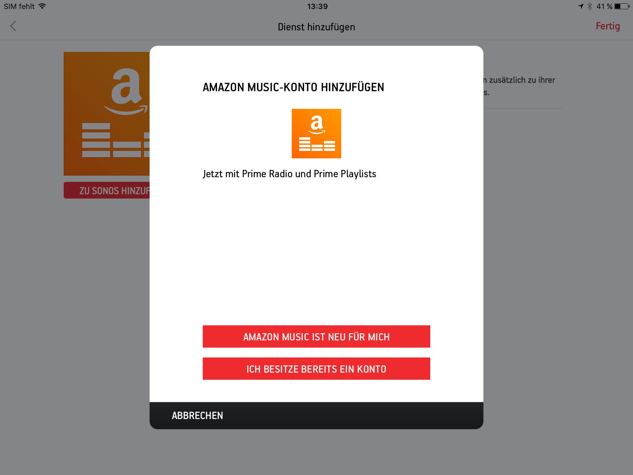Ihr Amazon Music Konto Ist Momentan Verbunden Mit