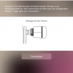 Elgato Eve Thermo Installation