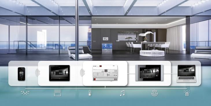 Kabelgebundene Smart-Home-Systeme: Jung KNX