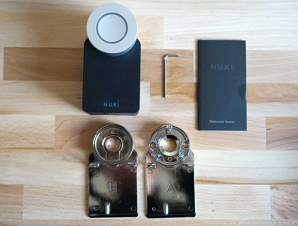 Nuki Smart Lock: Packungsinhalt