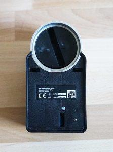 Nuki Smart Lock: Schlitz für Schlüssel