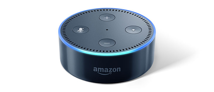 Amazon Echo Dot: Spracherkennung aktiv