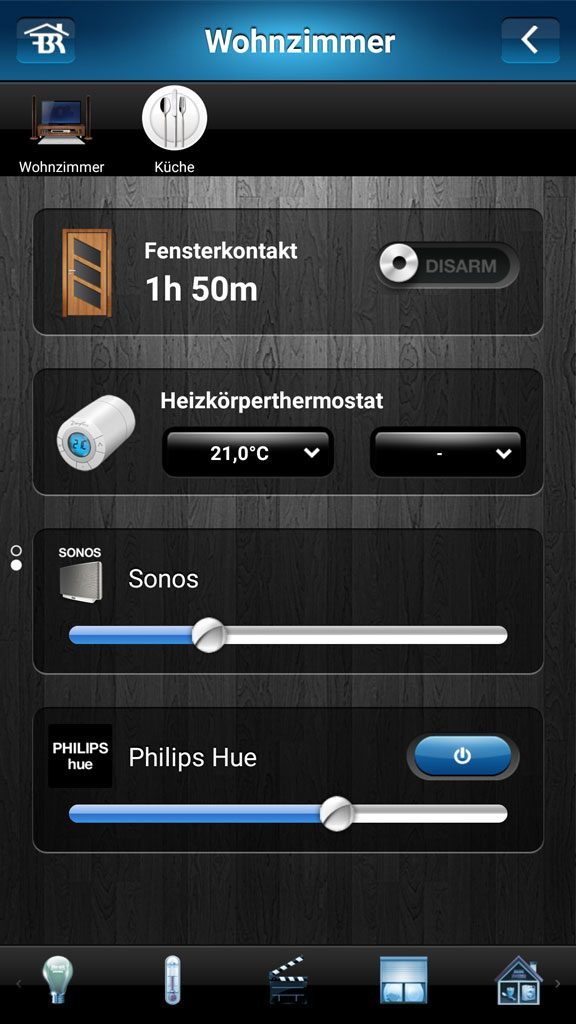 Fibaro Home Center 2 App