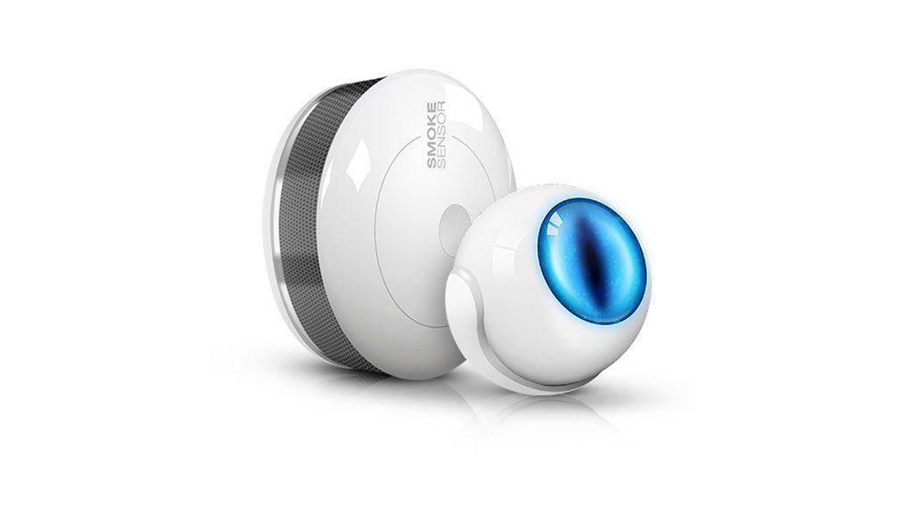 Fibaro Motion Sensor und Smoke Sensor