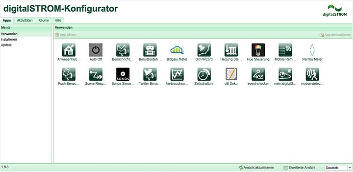 digitalSTROM Konfigurator