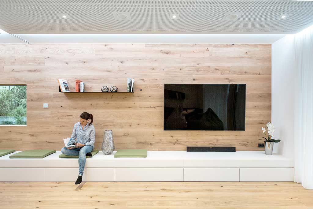 Loxone Showhome: Wohnzimmer