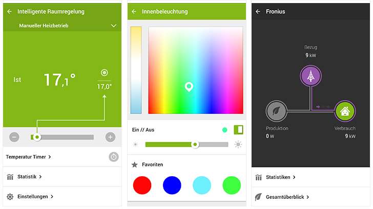 Loxone Smartphone App