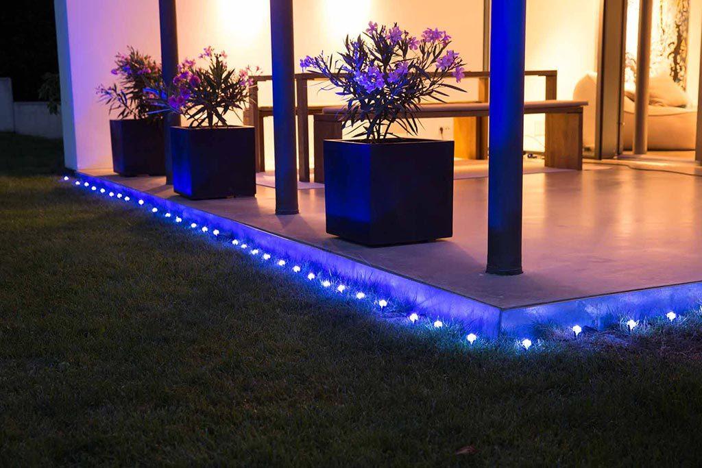 Philips Hue Alternative: Osram Lightify Gardenspots