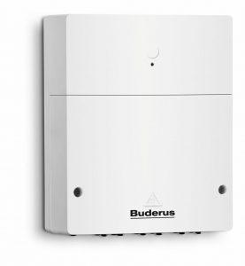 Heizkessel vernetzen mit Buderus Logamatic web KM200