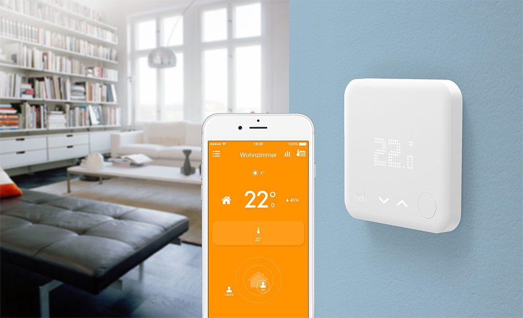 tado smartes Thermostat mit App