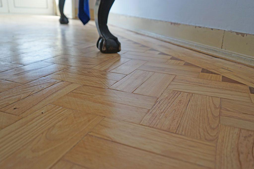 Smart-Home im Eigenbau: Holzboden