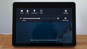 Amazon Echo Show: Hauptmenü