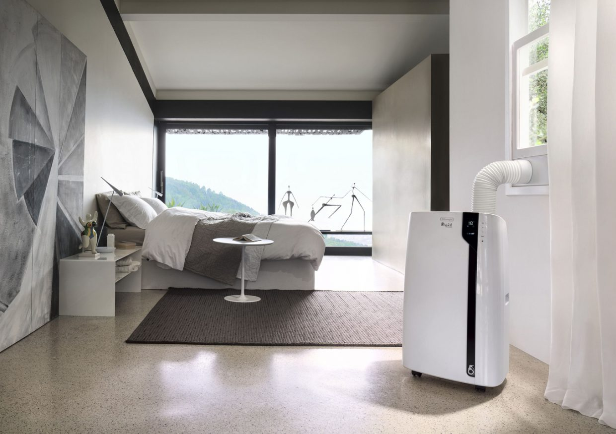 Delonghi_pac-ex100-silent_schlafzimmer