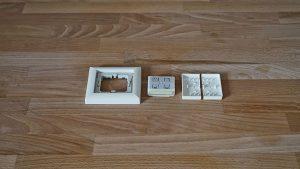 Eltako Funktaster FT55: Einzelteile