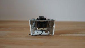 eQ-3 Kontaktschnittstelle Unterputz 1fach eingebaut