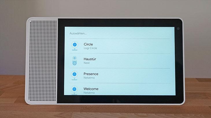 Lenovo Smart Display: Kameras