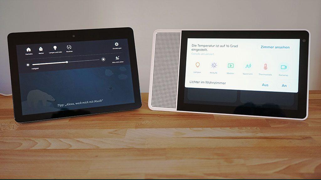 Smart Displays im Smart-Home
