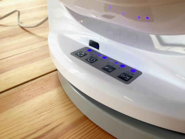 inLine SmartHome Tischventilator: Tasten