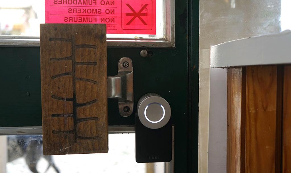 Nuki Smart Lock montiert