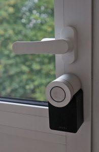 Nuki Smart Lock 2.0: Einsatz an der Terrassentür