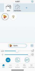 WiZ App: Home