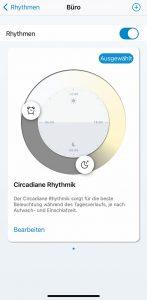 WiZ App: Rhythmen